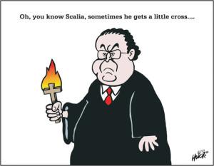 Scalia's Little Cross