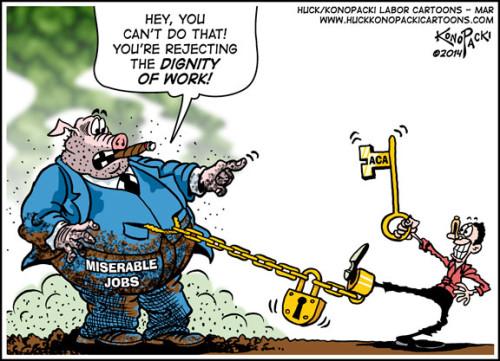 ACA freedom cartoon