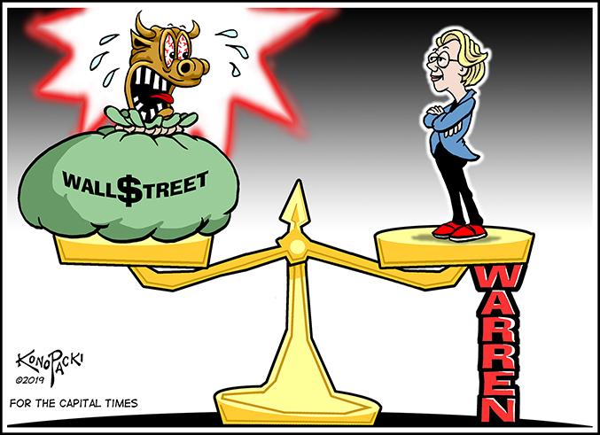 Sen. Warren income inequality