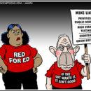 Mike Konopacki Teacher Cartoons for March 2020