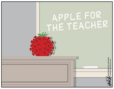 Gary Huck Labor Cartoons for August 2020